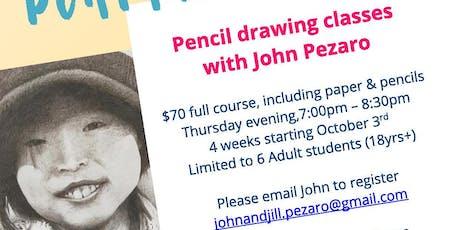 Pencil Portraits tickets