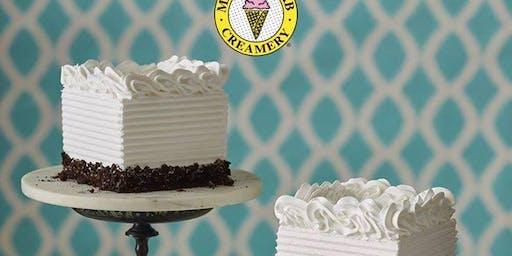 DIY Ice Cream Cake Decorating