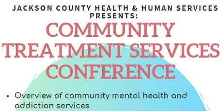 Community Treatment Services Conference tickets