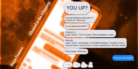 You Up? / Ghosted at the Afterparty tickets