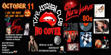 The Kitchen Club! 80's New Wave Edition! A Tribute to The Cars! tickets