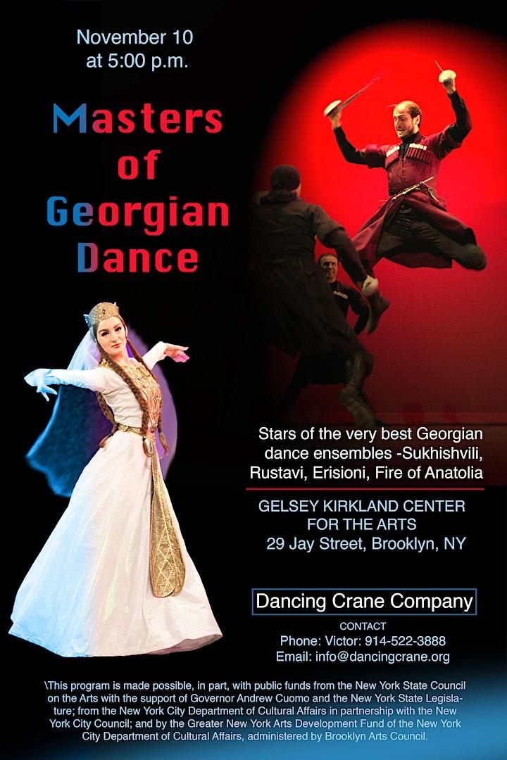 Masters of Georgian Dance image