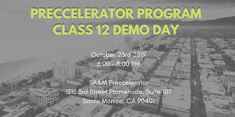 Preccelerator Class 12 Demo Day  tickets