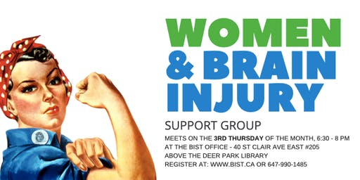 Women and Brain Injury Support Group - Nov 7, 2019