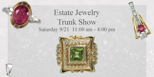 Estate Jewelry Trunk Show To Benefit The Hunger Task Force