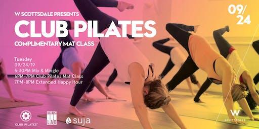 Free Club Pilates Mat Class - 9/24