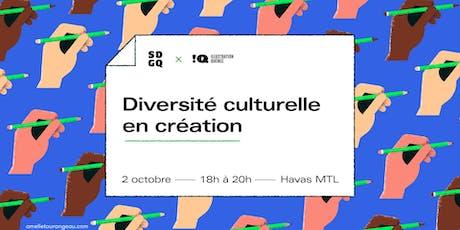 Diversité culturelle en création billets