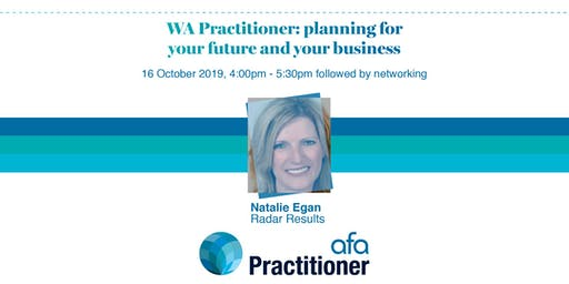 AFA WA Practitioner: planning for your future and your business
