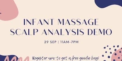 Infant Massage & Scalp Analysis Demo