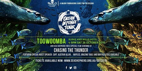 Sea Shepherd's Ocean Defence Tour 2019 - TOOWOOMBA  tickets
