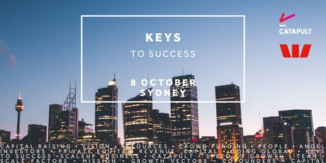 Keys to Success - Sydney October 2019 tickets
