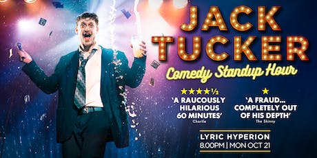 Jack Tucker: Comedy Standup Hour tickets