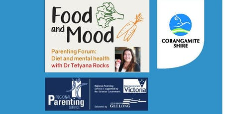 Food and Mood- Diet and Mental Health Parenting Forum   tickets