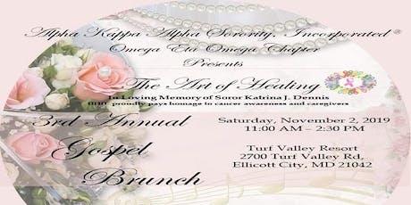 Alpha Kappa Alpha Sorority, Inc. ®  Omega Eta Omega Chapter Gospel Brunch tickets