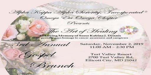 Alpha Kappa Alpha Sorority, Inc. ®  Omega Eta Omega Chapter Gospel Brunch