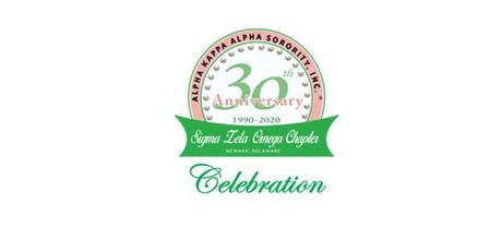 Sigma Zeta Omega Chapter's 30th Anniversary Celebration tickets