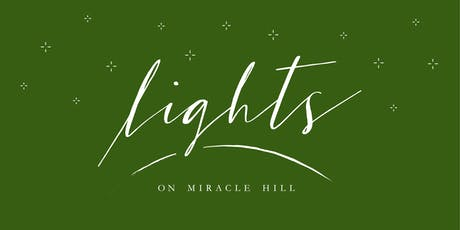 Lights on Miracle Hill - My Christmas Story - FREE Christmas Lights Show tickets