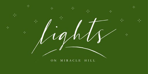Free Christmas Lights Show - Lights on Miracle Hill - My Christmas Story