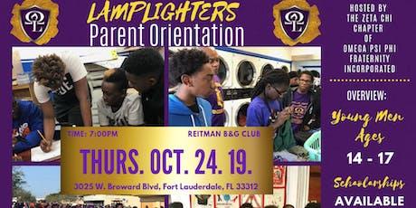 2K19 Lamplighter's Club Parent Orientation & Interest Meeting tickets