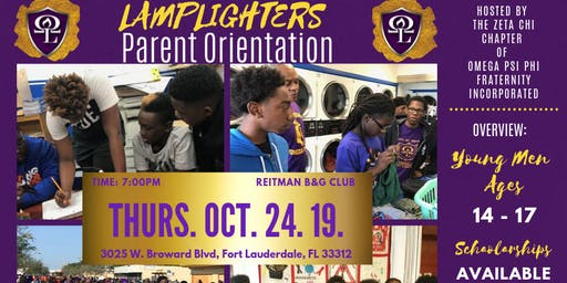 2K19 Lamplighter's Club Parent Orientation & Interest Meeting