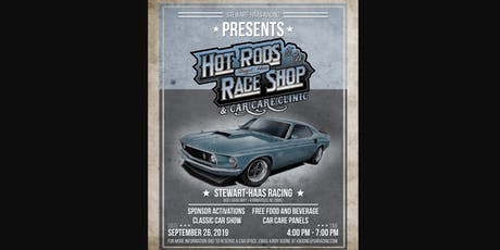 Hot Rods at the Race Shop tickets