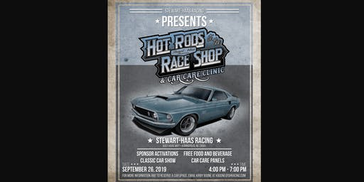Hot Rods at the Race Shop