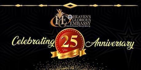 HGE 25th Anniversary Gala Night tickets