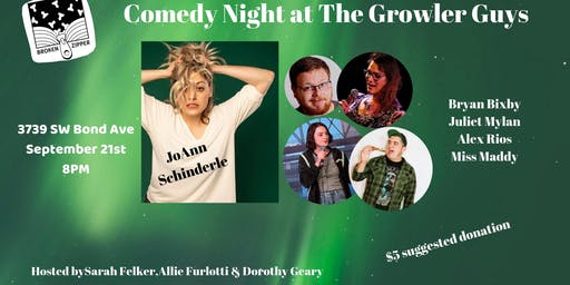 Comedy Night at The Growler Guys