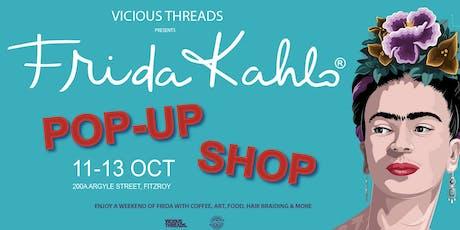 Frida Kahlo Pop-Up store tickets
