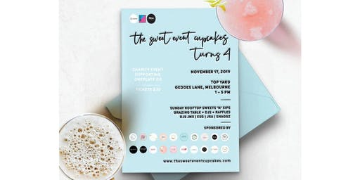 The Sweet Event Cupcakes Turns 4 - Charity Event