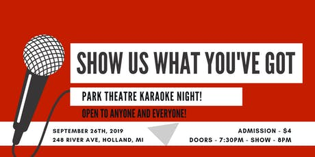 Karaoke Night at Park Theatre! @ Park Theatre tickets
