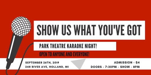 Karaoke Night at Park Theatre! @ Park Theatre