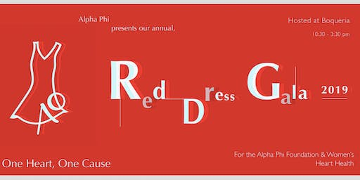 GWU Alpha Phi Annual Red Dress Gala