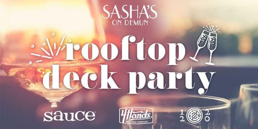 Sasha's DeMun Rooftop Deck Party