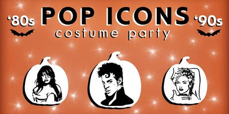 80's & 90's Pop Icons Costume Party at Boogie Fever | Ferndale tickets