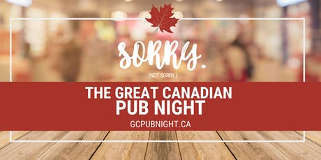 Great Canadian Pub Night tickets