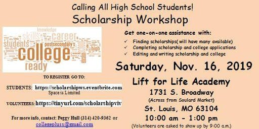 "Scholarship Workshop-""Show Me The Money"""