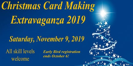Zonta Christmas Card Making Extravaganza 2019 tickets