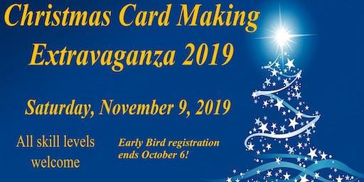 Zonta Christmas Card Making Extravaganza 2019