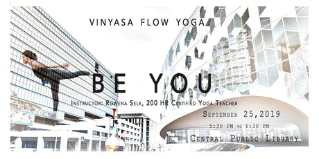 Free - Vinyasa Flow Yoga in Central Library tickets