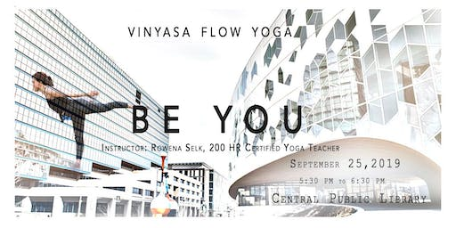 Free - Vinyasa Flow Yoga in Central Library