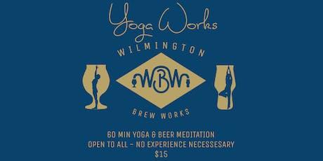 WBW Yoga Works #18 tickets