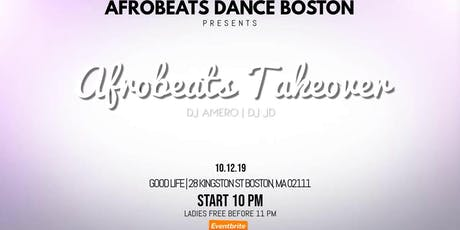 Afrobeats Takeover tickets
