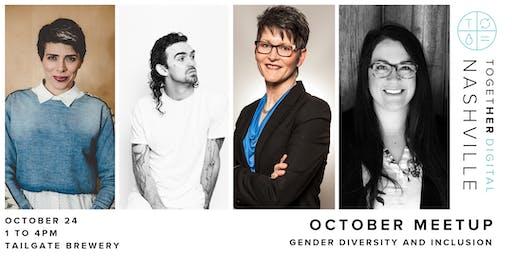 Nashville Together Digital October Meetup: Gender Diversity and Inclusion