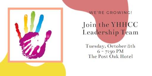 YHHCC Leadership Information Session