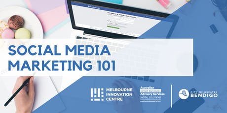 Social Media Marketing 101 - Greater Bendigo  tickets