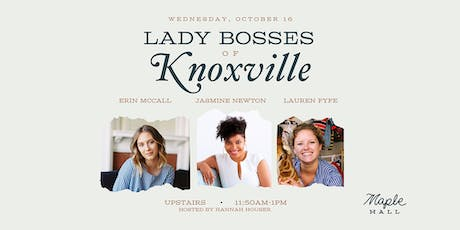 Lady Bosses of Knoxville: Photo/Video tickets