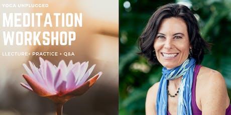 Monthly Meditation Workshop w/ Jennifer Reuter tickets