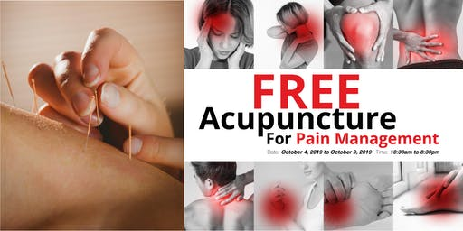 Free Acupuncture For Pain Management