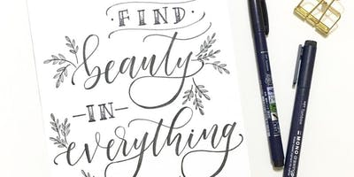 Modern Brush Lettering for Beginners with Shelly Kim of Letters by Shells